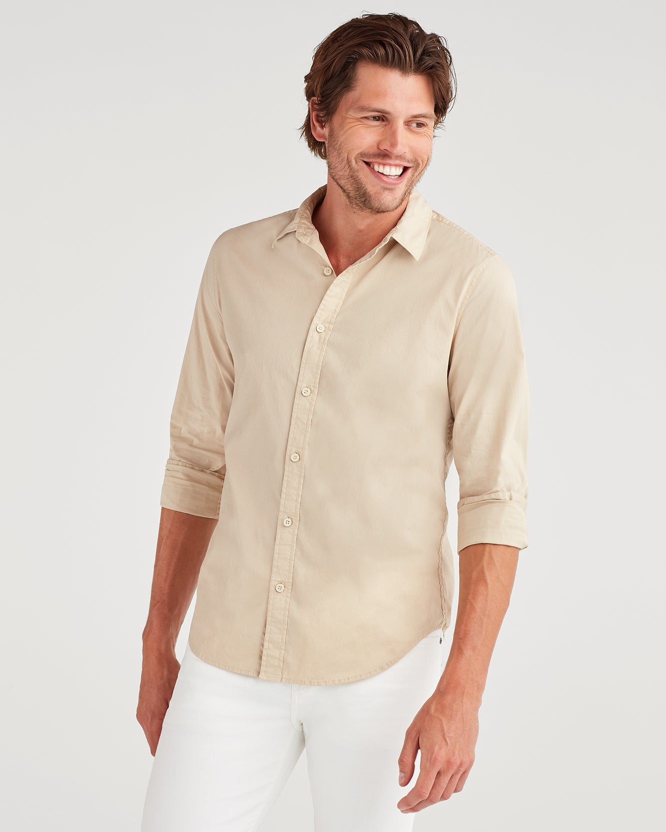 Image of Commuter Shirt in Pigment Khaki