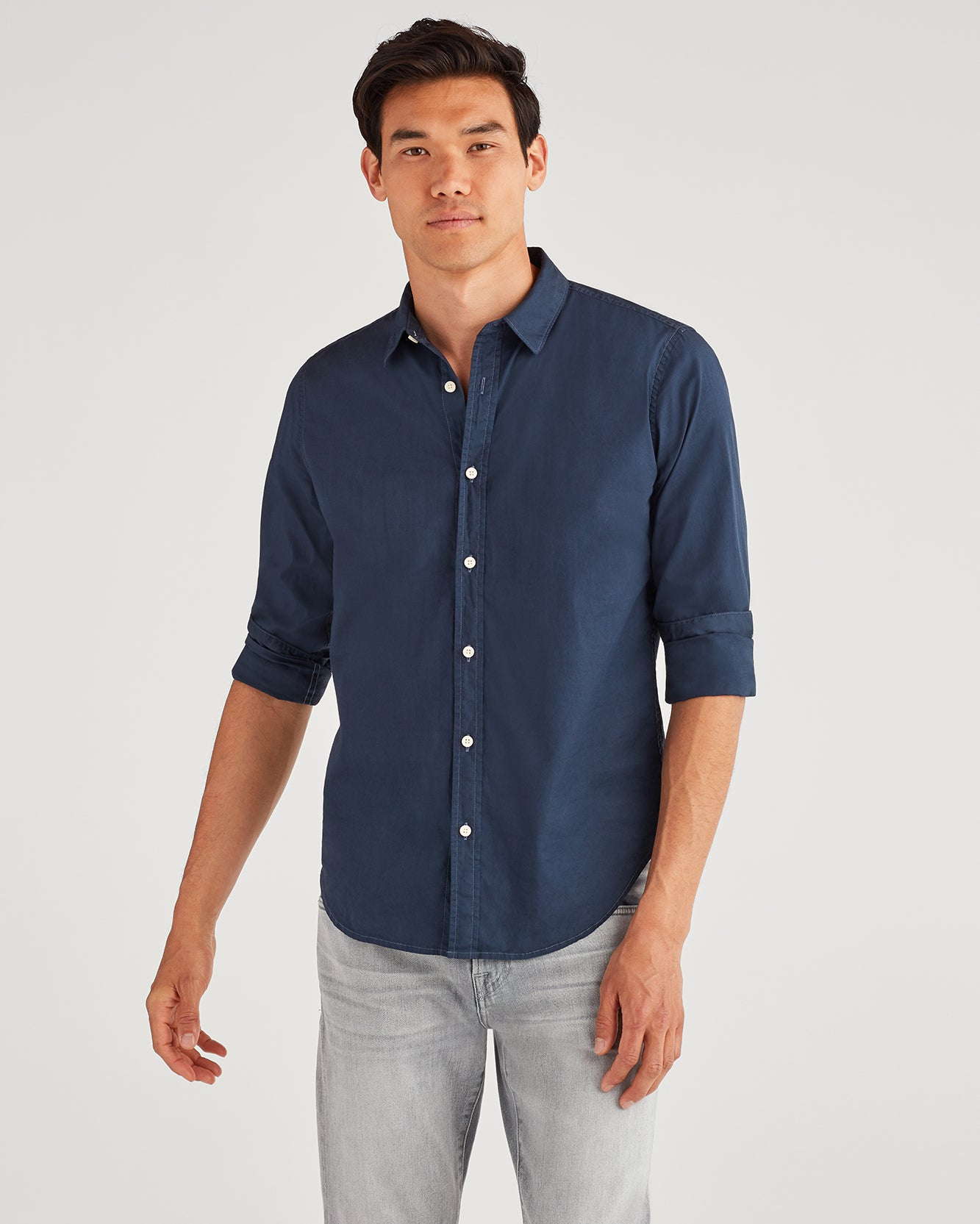Image of Commuter Shirt in Pigment Navy