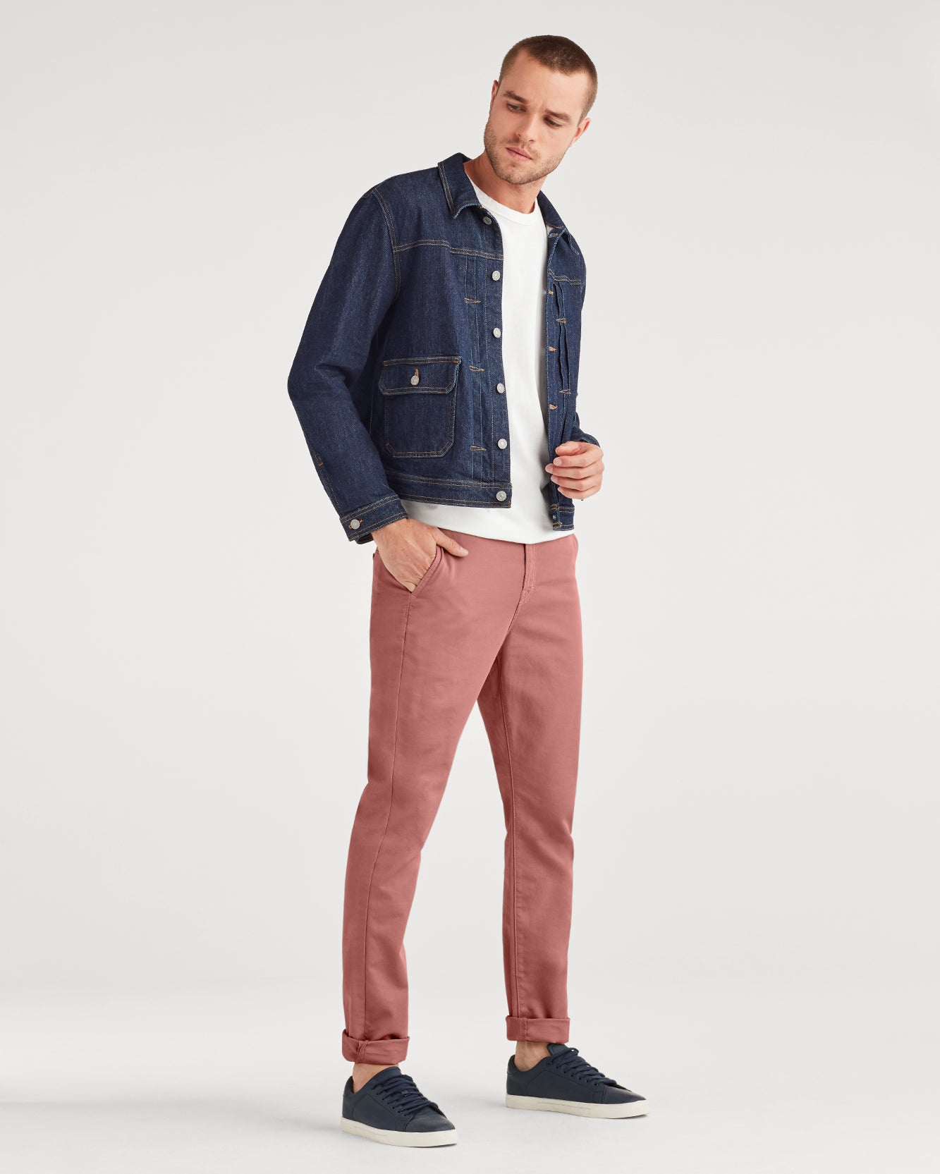 Image of Go To Chino in Dusty Rose