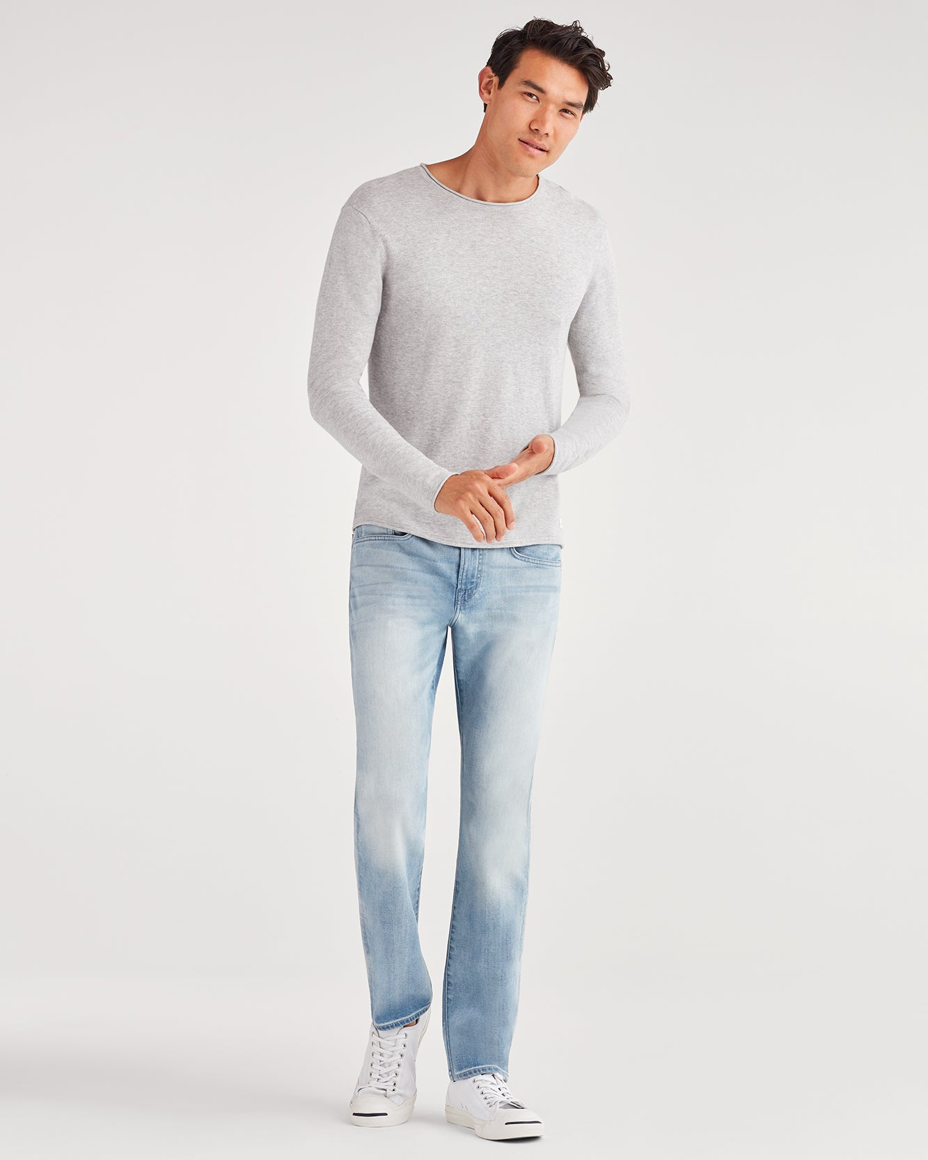 Image of Luxe Performance Slim Slimmy with Clean Pocket in Sunsoaked