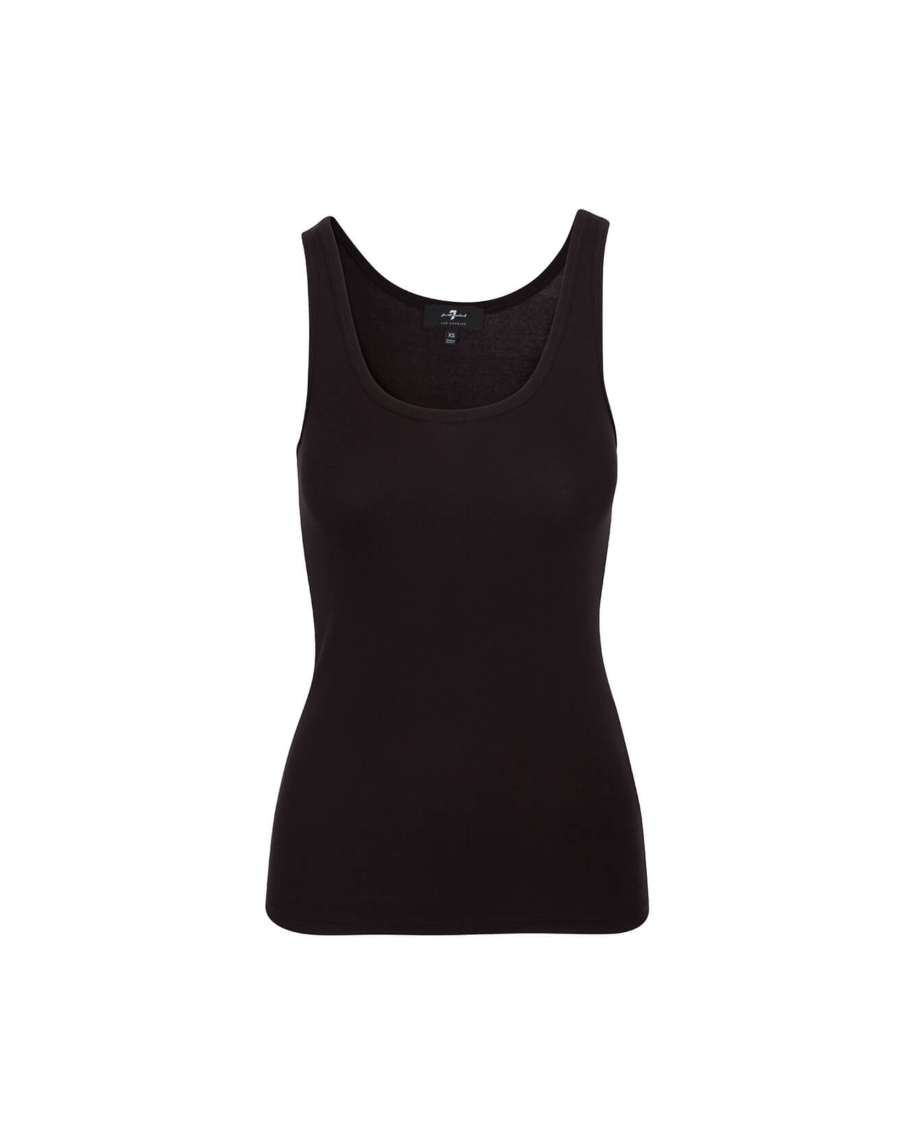 Image of Scoop Neck Tank in Black