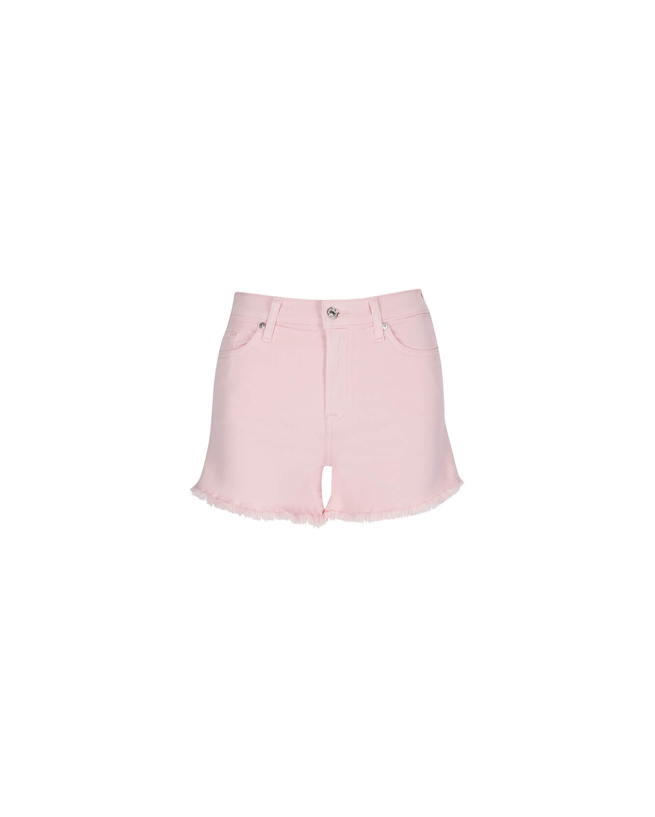 Image of High Waist Short in Peony