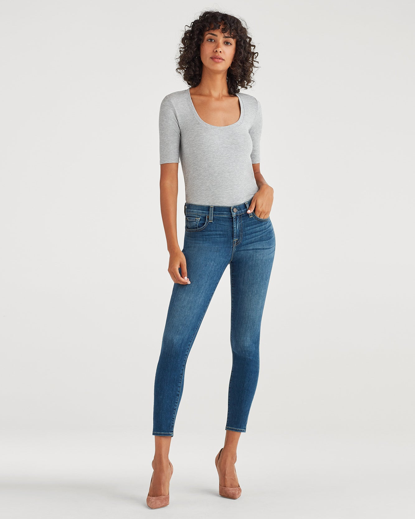 Image of Anle Skinny in Authentic Blue Malmo