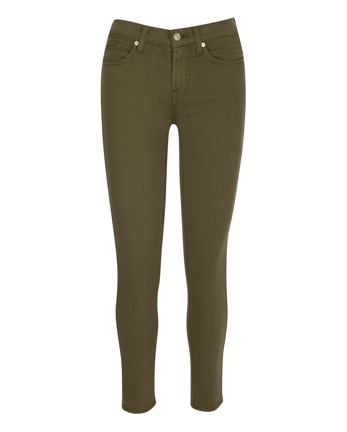 Image of Gwenevere Ankle Skinny in Army