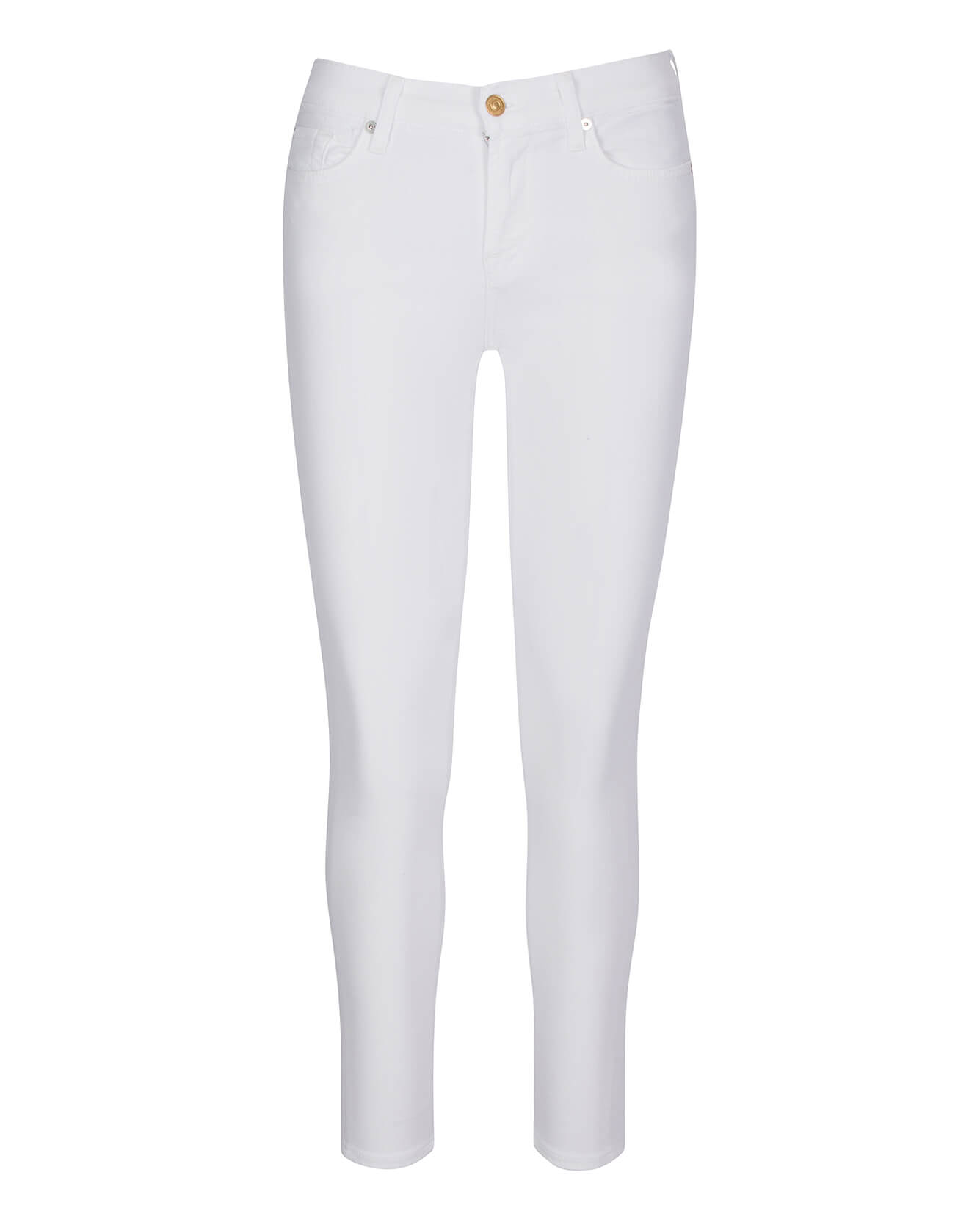 Image of Gwenevere Ankle Skinny in White