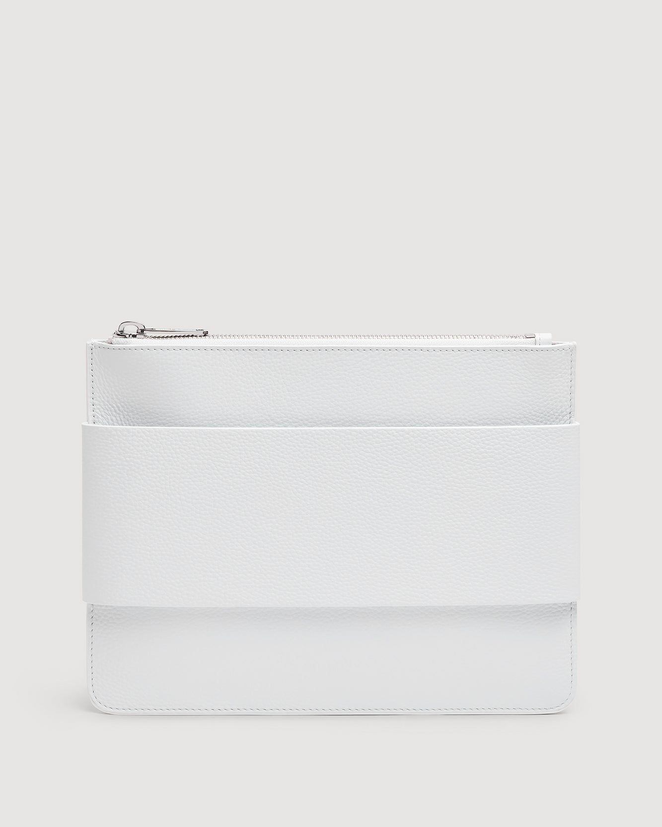 Image of Mankind Clutch in White